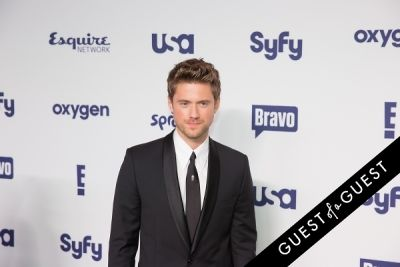aaron tveit in NBCUniversal Cable Entertainment Upfront