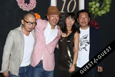 abe hiroki in EN Japanese Brasserie 10th Anniversary Celebration