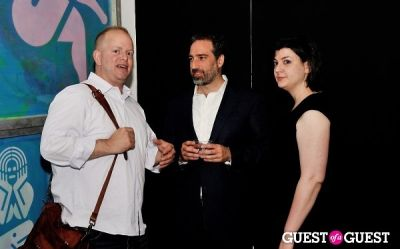 adam c.-greenberger in Young Art Enthusiasts Inaugural Event At Charles Bank Gallery