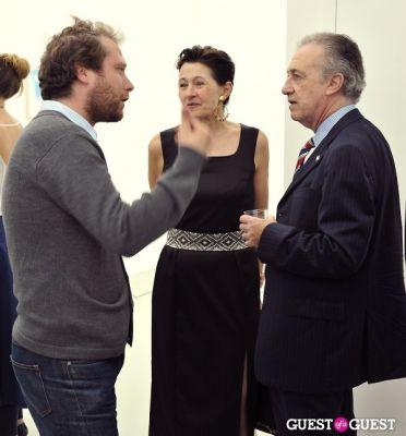 adam cohen in Mauro Bonacina exhibition opening reception