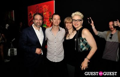 christen clifford in FLATT Magazine Closing Party for Ryan McGinness at Charles Bank Gallery