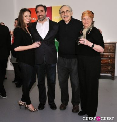 elliott snyder in Retrospect exhibition opening at Charles Bank Gallery