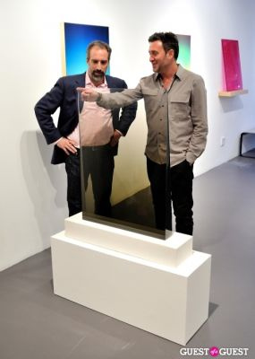 adam greenberger in Bowry Lane II exhibition opening