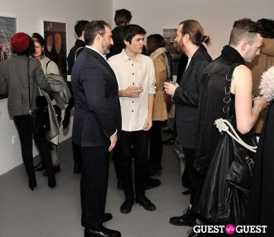 adam greenberger in Garrett Pruter - Mixed Signals exhibition opening
