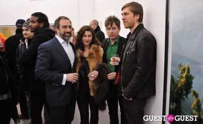 gibb slife in Bowry Lane group exhibition opening at Charles Bank Gallery