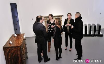janelle in Retrospect exhibition opening at Charles Bank Gallery