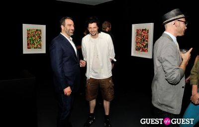 adam greenberger in FLATT Magazine Closing Party for Ryan McGinness at Charles Bank Gallery