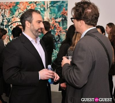 adam greenberger in Pia Dehne - Vanishing Act Exhibition Opening