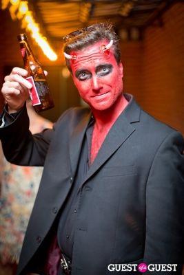 adam harper in Mara Hoffman & Pamela Love celebrate Halloween