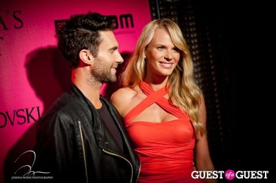 adam levine in Victoria's Secret 2011 Fashion Show After Party