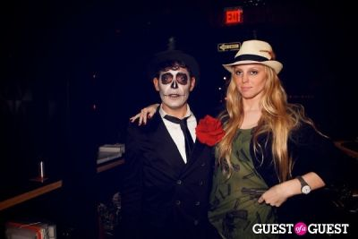 adam nelson in Taka Taka: Mexican Sushi + Japanese Tacos Day of the Dead Grand Opening