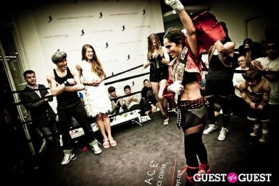 yurika foster in Celebrity Fight4Fitness Event at Aerospace Fitness
