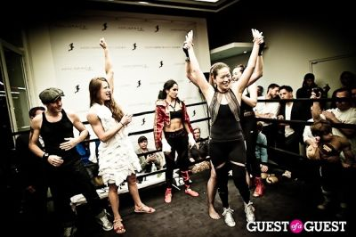 carol ju in Celebrity Fight4Fitness Event at Aerospace Fitness