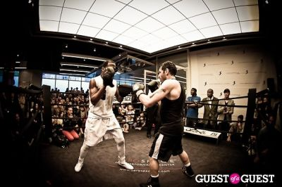 teddy singleton in Celebrity Fight4Fitness Event at Aerospace Fitness