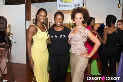 adetoro makinde in Brave Chick B.E.A.M. Award Fashion and Beauty Brunch