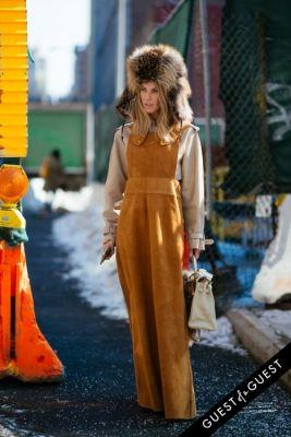 adi heyman in NYFW Street Style Day 4