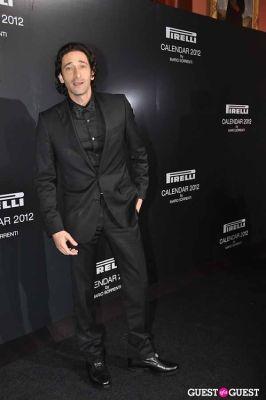 adrian brody in Pirelli Celebrates 2012 Calendar Launch