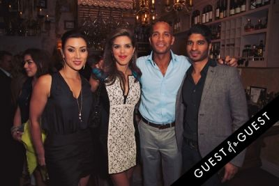 adrian fenty in Mari Vanna LA One-Year Anniversary Party