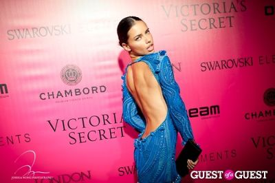 adriana lima in Victoria's Secret 2011 Fashion Show After Party