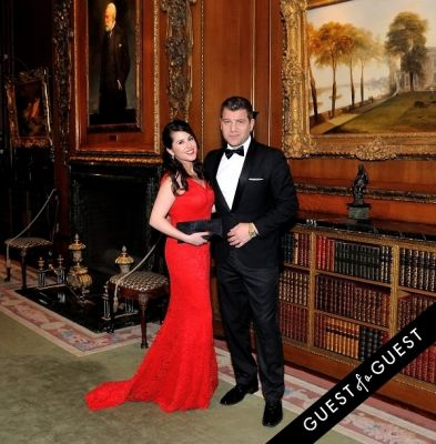 adriana soley in The Frick Collection Young Fellows Ball 2015