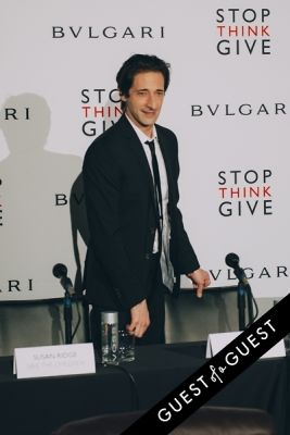 adrien brody in BVLGARI Partners With Save The Children To Launch