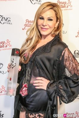 adrienne maloof in Perez Hilton 35th Birthday Pajama Party