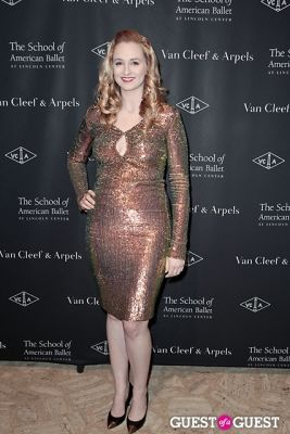 adrienne rudkin in The School of American Ballet Winter Ball: A Night in the Far East