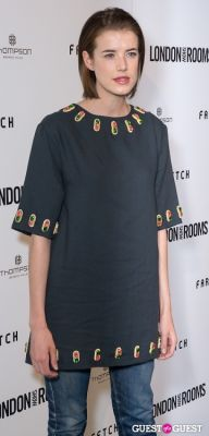 agyness deyn in British Fashion Council Present: LONDON Show ROOMS LA Cocktail Party