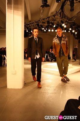 aharon kolatch in 2012 Pratt Institute Fashion Show Honoring Fern Mallis