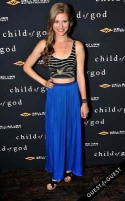 ahna o-reilly in Child of God Premiere