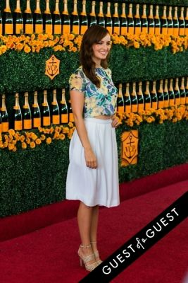 ahna o-reilly in The Sixth Annual Veuve Clicquot Polo Classic Red Carpet