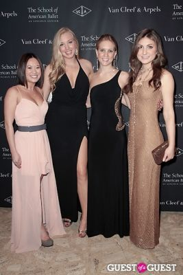 sarah mingz in The School of American Ballet Winter Ball: A Night in the Far East