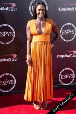 aja evans in The 2014 ESPYS at the Nokia Theatre L.A. LIVE - Red Carpet