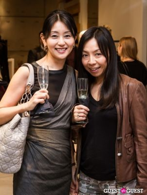 hiromi in SportMax and ELLE Celebrate the Holidays!