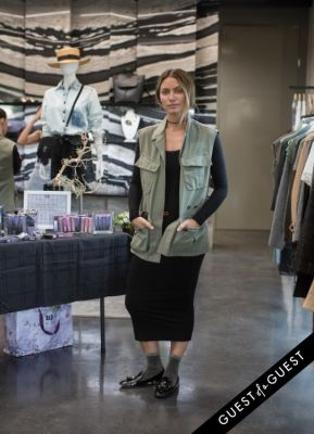 alaina etue in Joy Bryant Launches Basic Terrain at CURVE