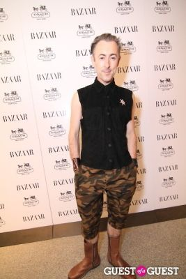 alan cumming in Harper's Bazaar Greatest Hits Launch Party