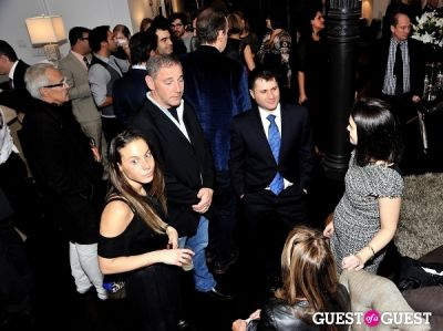 alan newman in Luxury Listings NYC launch party at Tui Lifestyle Showroom