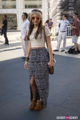 alanna martine in NYFW 2013: Day 4 at Lincoln Center