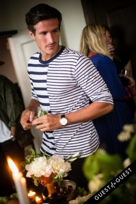 alban delierre in Guest of a Guest & Cointreau's NYC Summer Soiree At The Ludlow Penthouse Part II