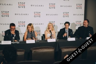 peter lawrence in BVLGARI Partners With Save The Children To Launch