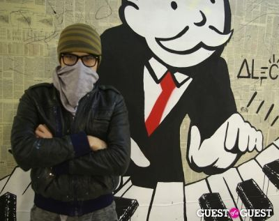alec in Alec - Monopoly Art Show 2010