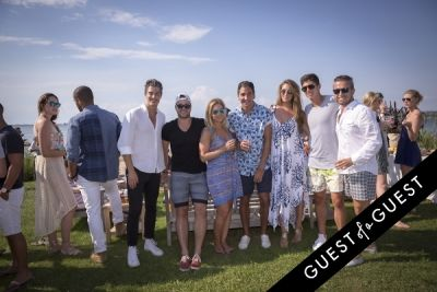 alec adjil in GUEST OF A GUEST x DOLCE & GABBANA Light Blue Mediterranean Escape In Montauk