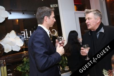 alec baldwin in Caudalie Premier Cru Evening with EyeSwoon