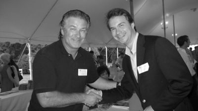 alec baldwin in East Hampton Author's Night