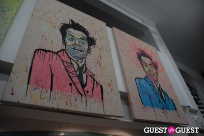 alec monopoly in LabArtLA Grand Opening
