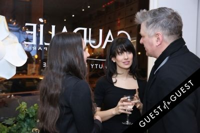 alec and-hilaria-baldwin in Caudalie Premier Cru Evening with EyeSwoon