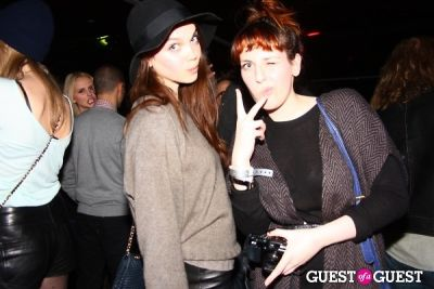 alecta hill in The Kills x Lovecat Magazine Party
