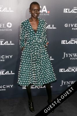 alek wek in Keep a Child Alive 11th Annual Black Ball