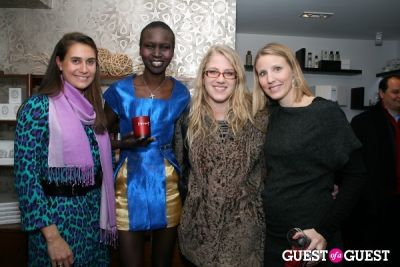 alek wek in (diptyque)RED Launch Party with Alek Wek