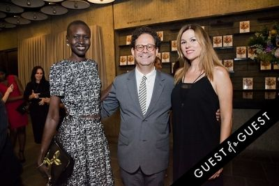 alek wek in Jeff Koons: A Retrospective Opening Reception